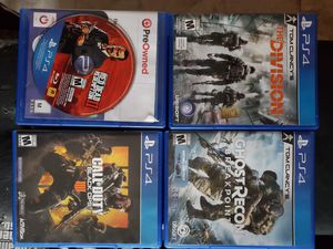 4 ps4 games for Sale in Brooklyn, NY