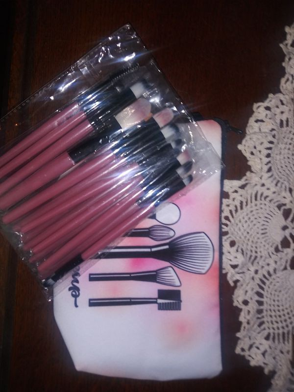 Makeup brushes&bag