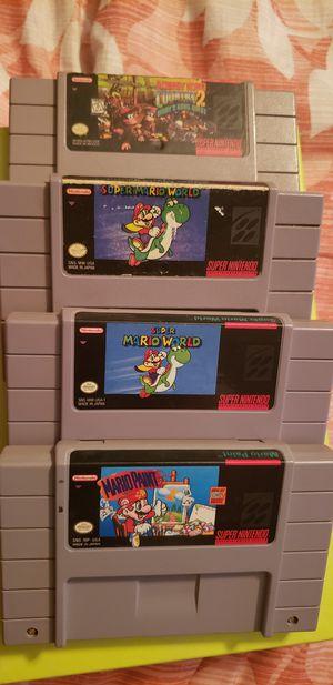 Super Nintendo ( video games ) for Sale in Phoenix, AZ