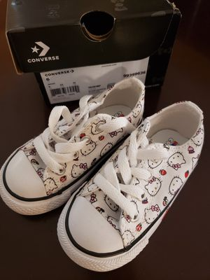 Converse Hello Kitty Shoes for Sale in Mont Belvieu, TX