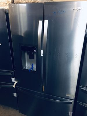Whirlpool platinum stainless steel french door refrigerator for Sale in Columbus, OH