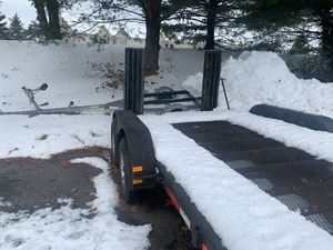 16 ft car trailer excellent condition for Sale in Vernon, CT