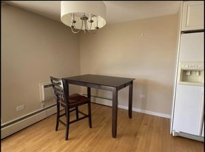 Wooden table and two chairs for Sale in Denver, CO