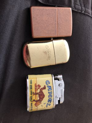 Zippo lighters vintage for Sale in San Jose, CA
