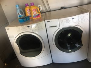 Kenmore Washer And Gas Dryer Set for Sale in Chino, CA