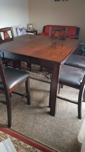 Dining table with 6 chairs firm price for Sale in Las Vegas, NV