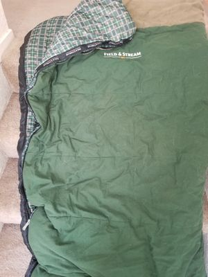 Sleeping bag, Field and Stream 40° for Sale in Las Vegas, NV