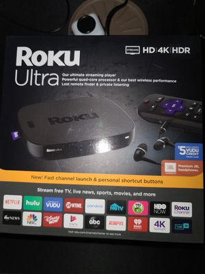 Roku Ultra for Sale in Cuyahoga Falls, OH