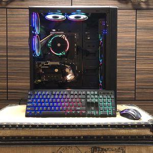New RGB Desktop, 32GB DDR4, 8 Core Ryzen 7, GTX 750ti 4GB OC , 500GB M.2, 1TB HD, Win 10 Pro 64bit, MS Office 2019 for Sale in Vancouver, WA
