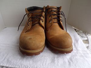 Timberland Tan Leather Work or Casual Boots Size 10.5 for Sale in Willingboro, NJ