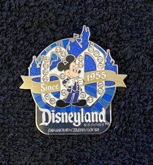 Disney Pin #181, Disneyland Resort, Diamond Celebration, 60th Anniversary, Mickey Mouse Pin for Sale in San Diego, CA