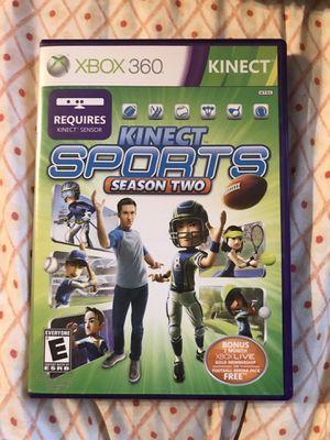 Xbox 360 Kinect season 2 game for Sale in Renton, WA