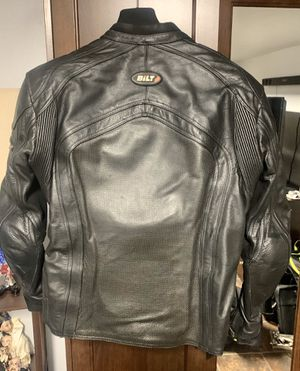 BILT LEATHER MOTORCYCLE JACKET 54 / L for Sale in Staten Island, NY