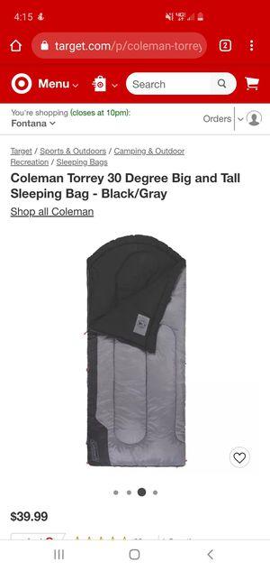 Sleeping bag for Sale in Fontana, CA