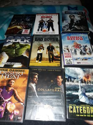 Movie 8 for $11 for Sale in Lynwood, CA