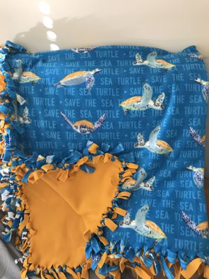 Save the Sea Turtles blanket for Sale in Lexington, SC