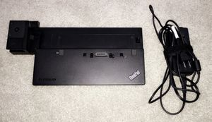 Lenovo ThinkPad Ultra Dock with an adapter for Sale in Flower Mound, TX