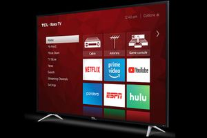 "TCL 55"" CLASS 4-SERIES 4K UHD HDR ROKU SMART TV - 55S405 for Sale in Cleveland, OH"