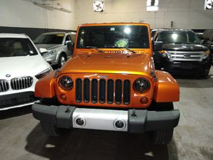 2010 Jeep Wrangler Unlimited Sahara for Sale in Hallandale Beach, FL