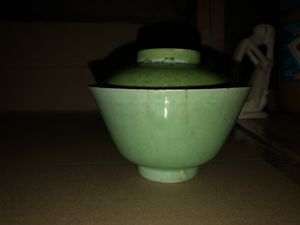 Antique Chinese bowl with lid for Sale in San Diego, CA