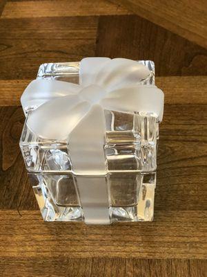 Tiffany crystal present box for Sale in FL, US