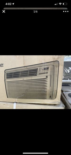 Brand new LG window AC 9800 BTU delivery 🚚 Available for Sale in Tacoma, WA