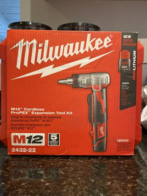 Milwaukee M12 expansion tool kit for Sale in Whittier, CA