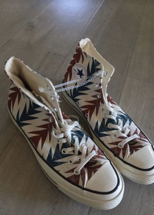 Men's converse Aztec pattern rare for Sale in Fontana, CA