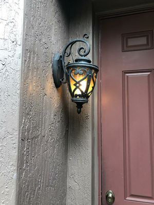 Casa Marseille outside Wall Light for Sale in West Palm Beach, FL