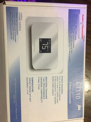 Radio thermostat CT 110 for Sale in Kenneth City, FL