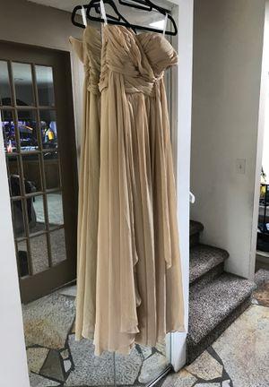 Chiffon wedding dress size 8 to 10 for Sale in Kent, WA