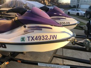 Two 2003 Seadoo GTI jetski for Sale in Roanoke, TX