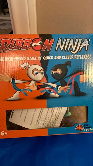 Kids ribbon high ninjaspeed game of quick reflexes for Sale in Yorba Linda, CA