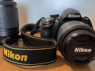 NIKON D3200 - TWO LENSES - LENS HOODS, Etc. for Sale in Boynton Beach,  FL
