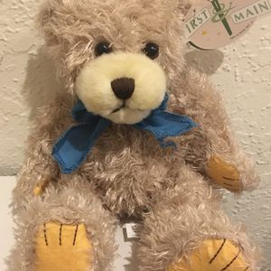 """First and Main Scraggles Kohair RARE #1863 Shaggy SOFT GREY Bear 7"""" MINT w/TAGS for Sale in Fort Lauderdale, FL"""