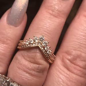 Wow! A beautiful Pandora rose gold ring for Sale in Charles Town, WV