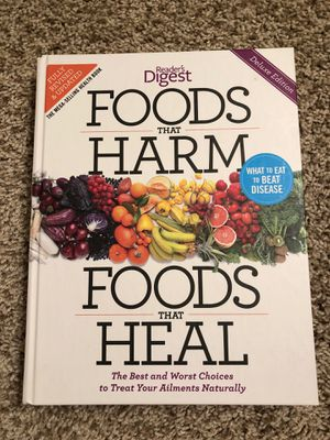 Foods that Harm, Foods that Heal - Book for Sale in Rochester Hills, MI
