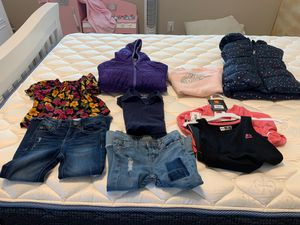 Kids clothes 3jackets and jeans for Sale in Midlothian, TX