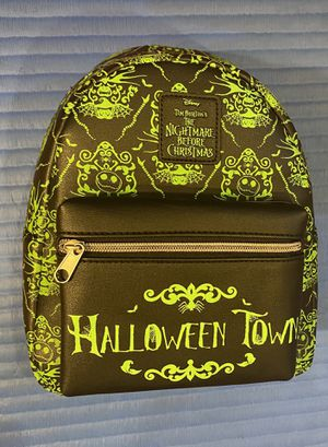 "Loungefly Nightmare Before Christmas ""Halloween Town"" Mini Backpack for Sale in Surprise, AZ"