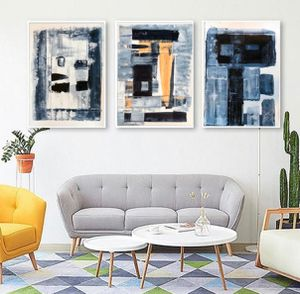 Original Abstract Painting Set of Three for Sale in Long Beach, CA