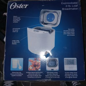 Oyster Expressbake 2 Pound Bread Maker for Sale in Phoenix, AZ