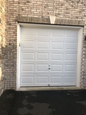 Amarr garage 8x8 garage door - 2 qty used for Sale in Stone Ridge, VA