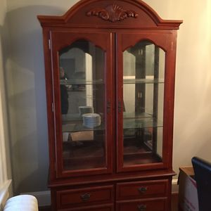 Wooden China Cabinet for Sale in Washington, DC
