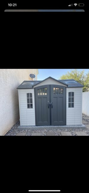 Life time shed. Great condition! Power already to go. for Sale in Henderson, NV