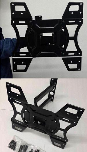 New in box universal 32 to 50 inches swivel tilt full motion tv television wall mount bracket 88 lbs capacity for Sale in Whittier, CA