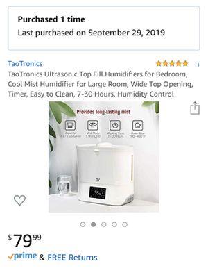 Top fill humidifier for Sale in Boston, MA