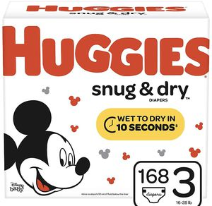 Huggies diapers snug dry size 3 for Sale in Downey, CA