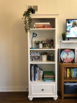 Pottery Barn White Shelving Unit for Sale in Chicago, IL