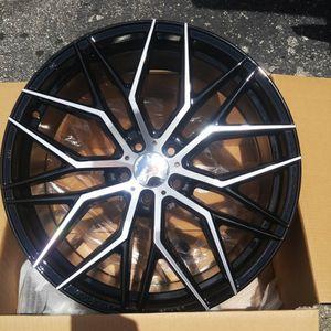 "Brand New 20"" FT17 5x114.3Black Machine Wheels for Sale in Miami, FL"