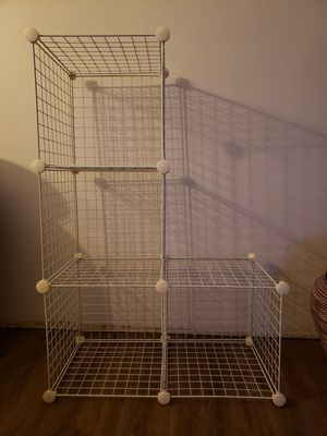 White metal/wire storage shelves for Sale in San Diego, CA